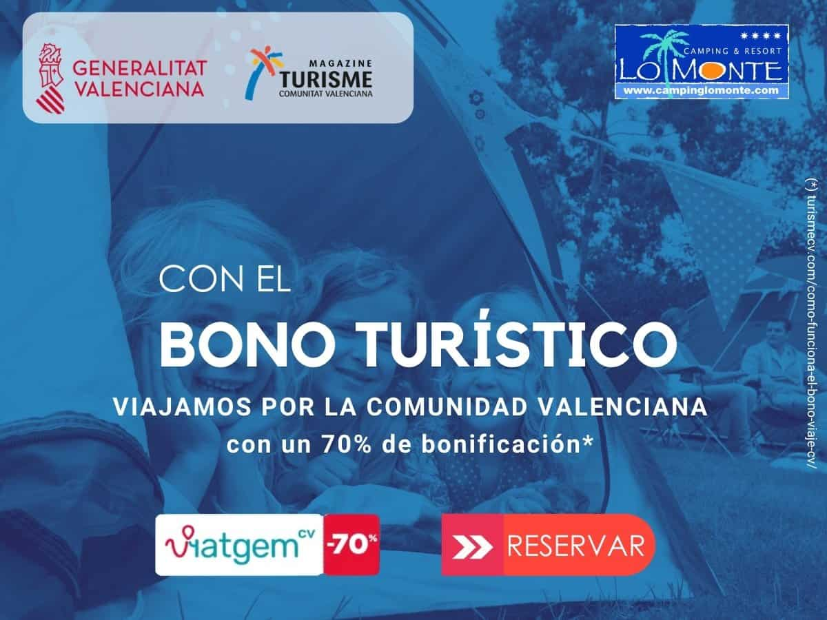 Reservar bono turístico Comunidad Valenciana